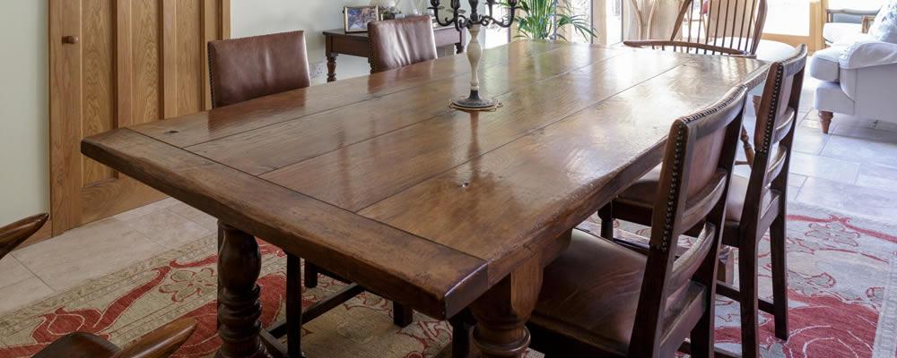Downsizing A Precious Oak Dining Table